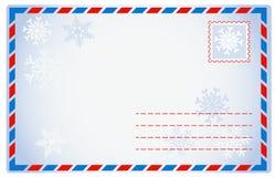 Envelope do inverno Imagem de Stock