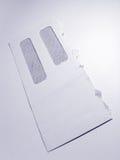 Envelope do negócio Imagens de Stock