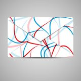 Envelope do vetor para seu projeto Fotos de Stock Royalty Free