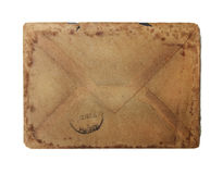 Envelope do vintage Foto de Stock