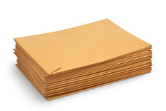 Envelope document stacks Royalty Free Stock Photography