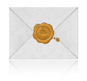 Envelope for Halloween Stock Images