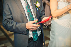 Envelope in hands 973. Stock Photography