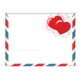 Envelope With Hearts. Vector Stock Images