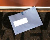 Envelope holandês de imposto e da administração aduaneira imagens de stock royalty free