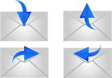 Envelope Icon Royalty Free Stock Photos