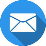Envelope icon. Send email message sign. Internet mailing symbol. Royalty Free Stock Photos