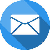 Envelope icon. Send email message sign. Internet mailing symbol. Stock Photography