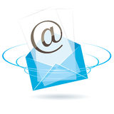 Envelope icon. vector illustration Stock Images