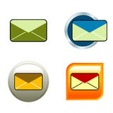 Envelope Icons Royalty Free Stock Photo