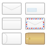 Envelope Icons EPS Royalty Free Stock Images