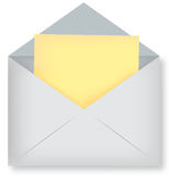 Envelope illustration Royalty Free Stock Photos