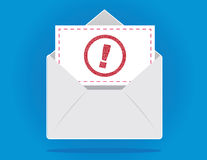 Envelope Important royalty free illustration