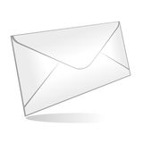 Envelope isolated Royalty Free Stock Photos