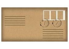 Envelope isolated on white Royalty Free Stock Photos