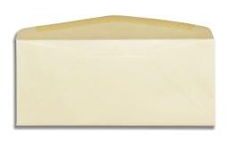 Envelope isolation Royalty Free Stock Photo