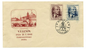 Envelope with Lenin Stock Images