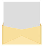 Envelope and letter Stock Images