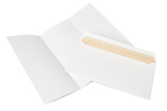 Envelope and letter Royalty Free Stock Photos