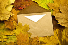 Envelope with the letter Royalty Free Stock Photos