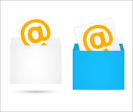 Envelope with the letter Stock Images