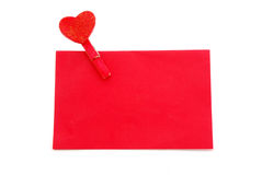 Envelope with love Stock Photography