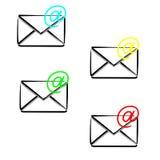 Envelope mail icon Stock Photo