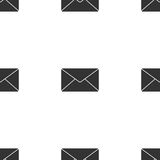 Envelope mail icon for web. Flat design illustration. Vector Royalty Free Stock Photography