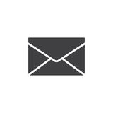 Envelope, mail, message icon vector, filled flat sign, solid pictogram isolated on white. Symbol, logo illustration. Pixel perfect vector illustration