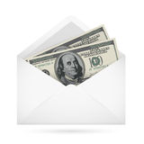 Envelope with money Stock Photo
