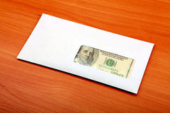 Envelope With a Money Royalty Free Stock Photos