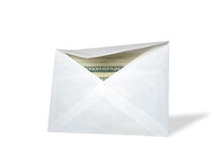 Envelope With Money Royalty Free Stock Photos
