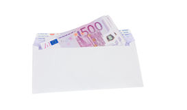 Envelope and money Stock Photography