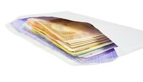 Envelope and money Royalty Free Stock Photo