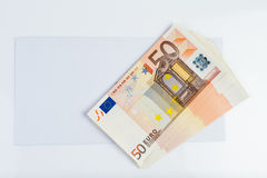 Envelope and money!. Envelope and money, ilegal transfer Stock Images