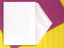 Envelope - open Royalty Free Stock Photos