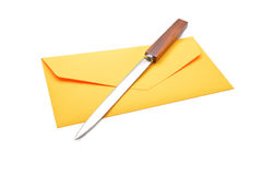 Envelope opener Stock Images