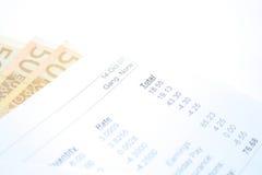 Envelope pago Imagem de Stock Royalty Free