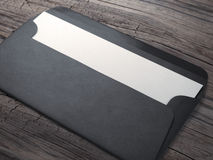 Envelope with paper Royalty Free Stock Photo