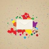 Envelope para letras Foto de Stock Royalty Free