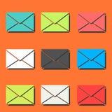 Envelope pattern Royalty Free Stock Photography