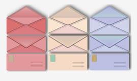 Envelope postal Foto de Stock