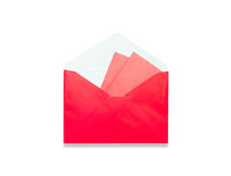 Envelope Red gift bag for the money in the Chinese New Year Stock Photo