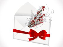 Envelope with ribbon Stock Image