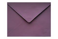 Envelope roxo Imagens de Stock