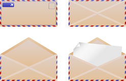 Envelope set 1 Royalty Free Stock Photography