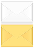 Envelope set Royalty Free Stock Images