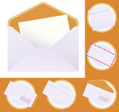 Envelope set Royalty Free Stock Image