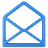 Envelope sign Royalty Free Stock Photography