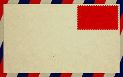 Envelope And Stamp Royalty Free Stock Image